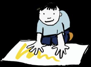 Hand-print-kid